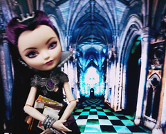 Raven (Brookie Raccoon) Tags: high queen after raven ever everafter eah ravenqueen everafterhigh