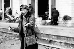 Young cheerful Red Dao woman (Rolf_52) Tags: vietnam sapa
