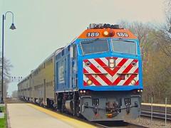 Back by my Home Rail. (Chicago Rail Head) Tags: bnsf railroad zoostop brookfieldillinois fieldtrip goinghome gradeschool metra 1233pmwestbound waitingforthetrain brookfieldil