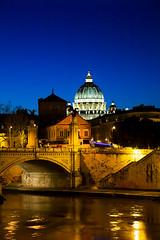 Roma - S. Pietro e Ponte Vittorio Emanuele
