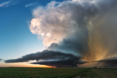 Why I chase. (Mike Mezeul II Photography) Tags: sunset sky storm beautiful weather clouds texas atmosphere structure chase thunderstorm epic floydada supercell