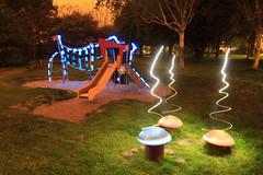 Spore Ascension (Hugo Baptista) Tags: longexposure lightpainting playground