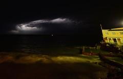 Coogee Storm 20150425 133 (oooo oooo) Tags: ocean storm weather night outdoor sydney australia nsw lightning coogee coogeebeach