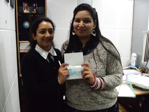 Gurleen Kaur Receives her dependent spouse visa for New Zealand from staff ( Feb 2014)
