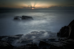 sunrise off Scotts Head (Adrian Wellington) Tags: scottshead