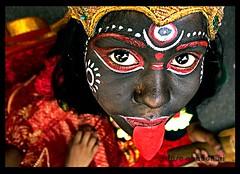 The human deity (tiasa.chaudhuri) Tags: kali goddess human ritual deity rituals gajan charak