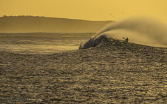 Riding Wild Seas at Dawn (ChrisKirbyCapturePhotography) Tags: wild storm dawn kayak waves australia southaustralia seas kayaker suft