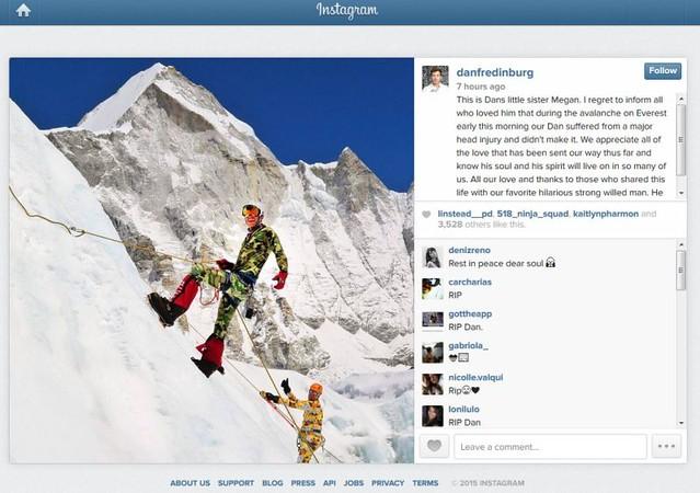 Eksekutif Google terbunuh dalam runtuhan Gunung Everest - Read more