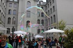 Seifenblasenfabrik Bubblebo Seifenblasenshow beim Tag der offenen Tür im Bundesministerium für Landwirtschaft 13