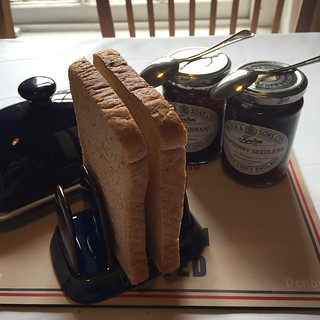 We now have the toast rack! #denby #john #lewis #jl #toast #rack #breakfast #wilkin #tiptree