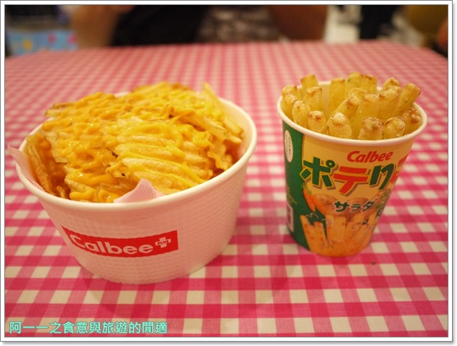 東京台場美食Calbee薯條築地銀だこGINDACO章魚燒image024
