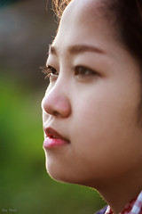 Thm (Duc _ Pham) Tags: light portrait sun girl face zeiss asian eyes vietnamese dof vietnam mat carl chan cz dung 135mm f35 sharpness mt chn cz135