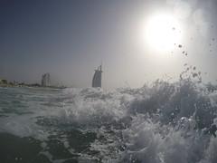 Burj Al Arab (the sail).