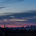 Pink Skies Over Boston
