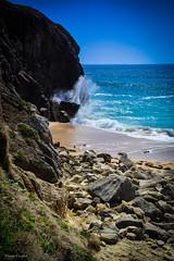DSC_0181 (FlipperOo) Tags: voyage sea mer france color st rock port de nikon pierre vagues plage morbihan blanc roche arche quiberon instagramapp