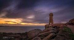 France - Lighthouse of Ploumanac'h (Toon E) Tags: sunset lighthouse france sony bretagne frankrijk phare vuurtoren perrosguirec 2016 brittanny tonika a6000 tonikaatx116pro1116f28