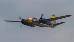 USAAF Douglas A-26B Invader 44-34104/N99420 'RG-C' (Hugh Dodson) Tags: saturday ypsilanti invader douglas willowrun usaaf silverdragon rgc a26b n99420 4434104 thunderovermichigan2015