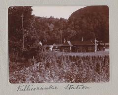 Killiecrankie Station 1903 (Bury Gardener) Tags: uk station vintage scotland perthshire perth oldies 1900s 1903 killiecrankie