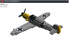 Messerschmitt Bf 109 (kr1minal) Tags: project lego nazi wwii german worldwar ldd