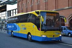 Stansted Citylink BG65VXB (Will Swain) Tags: london st pancras 14th may 2016 bus buses transport travel uk britain vehicle vehicles county country england english capital city central stansted citylink bg65vxb