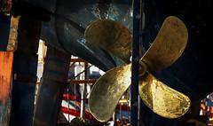 En reparacion (candi...) Tags: metal puerto barco marinero hlice reparaciones sonya77