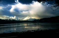 Truro (Claudia Phillips Photography) Tags: uk england weather river out evening cornwall cathedral tide truro picturesque tidal fal
