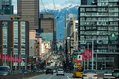 Every Day I'm Shufflin'  ~ Vancouver, BC (Michael Thornquist) Tags: canada mountains vancouver downtown cityscape britishcolumbia snowcapped pacificnorthwest pnw vancouverbc granvillebridge granvillestreet vancity gvrd mountseymour snowcappedmountains downtownvancouver metrovancouver granvillestreetbridge granvillemall vancouvercanada mountseymourprovincialpark vancouverisawesome explorecanada ilovebc vancitybuzz veryvancouver photos604