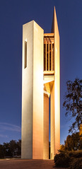 National Carillon, Canberra (russellstreet) Tags: night australia canberra australiancapitalterritory aspenisland nationalcarillon