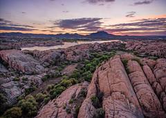 Granite-Dells-0120-HDR-Edit (Michael-Wilson) Tags: sunset arizona lake az aerial granite prescott drone willowlake michaelwilson phantom4 granitedells djiphantom