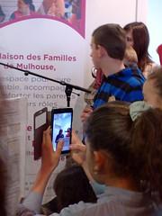Inauguration de la Maison des Familles de Mulhouse (AlsaceCatho) Tags: famille media maison caritas inauguration mulhouse jeanlouis discours familles apprentisdauteuil villedemulhouse maisondesfamillesdemulhouse achillealsace