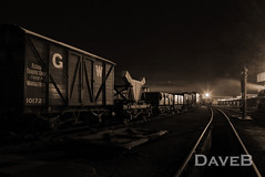 16_04_30_0211_Didcot-Night-single (Dangerous44) Tags: auto tank centre great engine railway steam western society didcot pannier 1450 9496