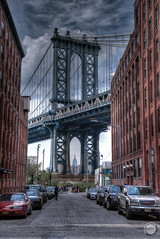 Manhattan Bridge (The-JMG) Tags: bridge usa newyork manhattan dumbo manhattanbridge