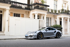 Rennsport. (stolemykeys) Tags: london 911 porsche rs 991 gt3