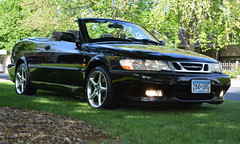 black_viggen_right_front_jpeg_DSC_0007 (pamcarlson1) Tags: 2002 convertible 93 saab viggen