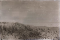 Vintage Shoreline... (craigdrezek9) Tags: old beach water vintage sand nikon connecticut postcard shoreline madison vintagepostcard filmlook d7100