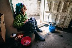 ekici Gzide - III (esintu) Tags: woman old tea door gaziantep turkey turkiye