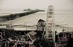 Southend-On-Sea (Sandrine Vivs-Rotger photography) Tags: old sea england pier traditional fair northsea southend