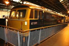Class 87 87001 Stephenson (Royal Scot) 17-06-2016 NRM.4 (routemaster2217) Tags: york br bobo nrm nationalrailwaymuseum stephenson britishrailways royalscot brel class87 87001 britishrailengineeringlimited acelectriclocomotive