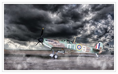 Stormy Skies Border (alone68) Tags: canon model arty spitfire