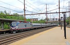 Timeless NEC Scene (craigsanders429) Tags: amtrak passengertrain trentonnewjersey passengercars amfleet amtraktrains trentontransitcenter amtraknortheastregional amfleetequipment