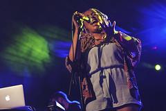 Harleighblu @ O2 Academy 3 (preynolds) Tags: concert birmingham raw dof singing stage gig livemusic noflash pop soul singer rnb mark2 stagelights soloartist tamron2470mm canon5dmarkii frontwomen counteractmagazine