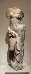 Ancient Greece. Marble Statue of Aphrodite, Anatolia, 2nd century BC / in the Metropolitan Museum of Art. (mike catalonian) Tags: sculpture statue female fulllength marble aphrodite anatolia ancientgreece 2ndcenturybc