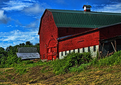 Old Man Deever's Place (raymondclarkeimages) Tags: wood usa color barn canon outdoor farm vibrant stable 6d 70200mm rci raymondclarkeimages 8one8studios