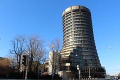 Basel - Bank für Internationalen Zahlungsausgleich-Tower Building