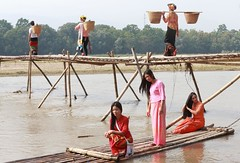 DP1U6125 (c0466art) Tags: wood trip travel light water festival canon costume model scenery colorful village chinese local spill tranditional 2016 bridage 1dx c0466art creek race