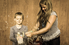 """Family"" Water Balloon Explosion (twinkleinmyeye) Tags: family portrait water waterballoons action sports movement watermovement landscape people outdoors canon expression face faces kids children child explosion pop hands actionphoto movementphoto photography"