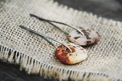 Slices of life- raised from ashes (Anastssia) Tags: ceramics handmade tribal pit earthy fired pitfired contemporaryceramics ceramicjewelry laccentnou