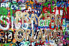 Laska je laska! Love is love! (NatashaColleen) Tags: love graffiti orlando peace czech prague czechrepublic johnlennon thebeatles johnlennonwall loveislove prayfororlando orlandoshootings