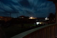 Long Exposure (tess.a.novaphotography) Tags: longexposure nightphotography nature night clouds outside island lights nikon exposure coconut palm neighborhood palmtrees caribbean westindies 784 bulbmode nikonphotography