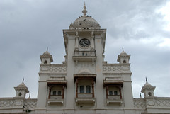 Clock tower (VinayakH) Tags: india gardens royal palace hyderabad royalpalace nizam telangana chowmahallapalace
